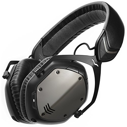 V-MODA Crossfade Wireless Over-Ear Headphone – Gunmetal Black