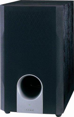 Onkyo SKW204 Bass Reflex Powered Subwoofer (Black)