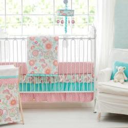 My Baby Sam Gypsy Baby 3-pc. Crib Bedding Set, Multicolor