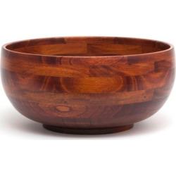 Lipper 12-in. Acacia Wood Serving Bowl, Brown