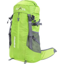Olympia Explorer 20-in. Outdoor Backpack & Hideaway Rain Cover, Green