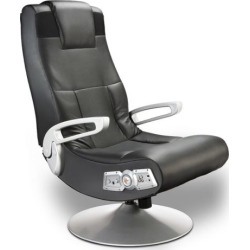 X-Rocker X-Pedestal Wireless Sound Gaming Chair, Black