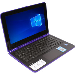 HP Pavilion X360 2-In-1 11.6 Touch-Screen Laptop – Intel Pentium – 4GB Memory – 512GB Hard Drive – Purple (Pre-Owned)