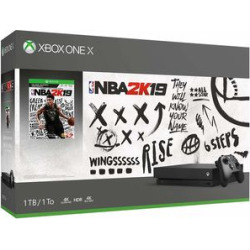 Microsoft Xbox One X 1TB Console – NBA 2K19 Bundle