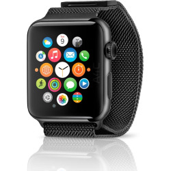 Apple Watch Series 1 w/ 42mm Stainless Steel Case & Milanese Loop – Space Black (Pre-Owned)