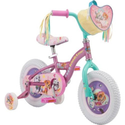 Paw Patrol 12″ Skye Bike, Multicolor