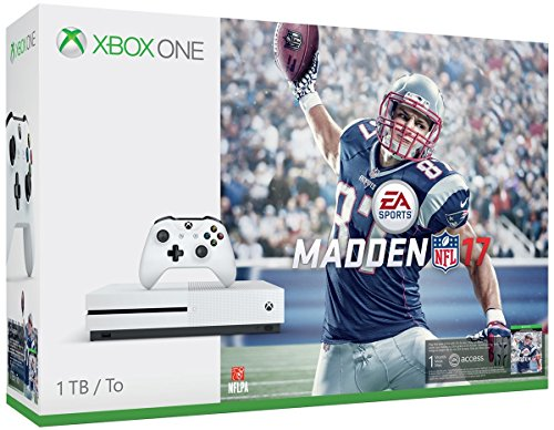 Xbox One S 1TB Console – Madden NFL 17 Bundle [Discontinued]