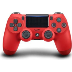 Sony PS4 DualShock 4 Controller, Red