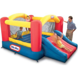 Little Tikes Jump 'n Slide Bouncer, Multicolor