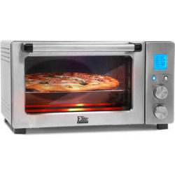Elite Cuisine Programmable Convection Oven, Multicolor