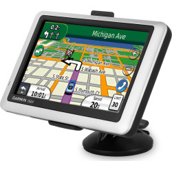 Garmin nuvi 1450T Ultra-thin GPS Navigator – Silver (Refurbished)