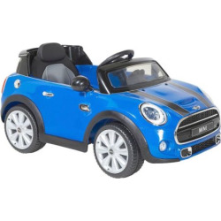 Mini 6V Cooper Ride-On by Dynacraft, Blue