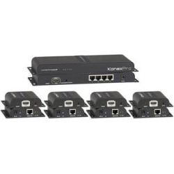 KanexPro 1×4 HDMI Distribution Amplifier and Cat5e/6 Extender SP-HDCAT1X4