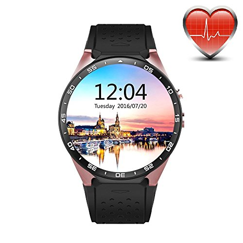 kw88 3g wifi smart watch cell phone all in one bluetooth android 51 sim card - Allshopathome-Best Price Comparison Website,Compare Prices & Save