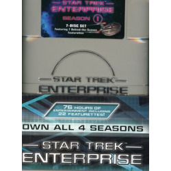 Star Trek: Enterprise – The Complete Series [27 Discs] [WS] [TV Show][Box]