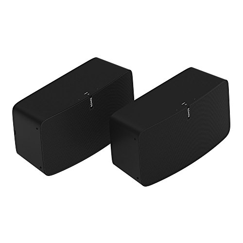 Sonos  PLAY:5 Two Room Premium Set-Ultimate Wireless Smart Speaker for Streaming Music Works with Alexa. (Black)