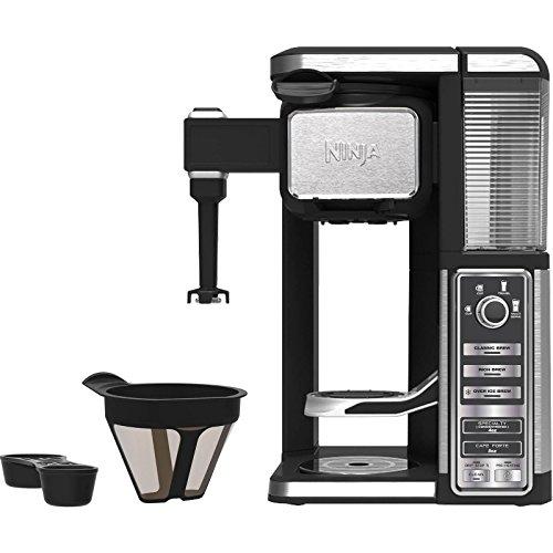 Ninja CF110 Coffee Bar, Black/Silver