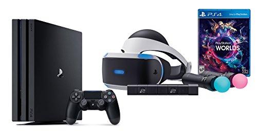PlayStation VR Launch Bundle 2 Items:VR Lauch Bundle,PlayStation 4 Pro 1TB