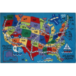 fun rugs fun time travel fun rug multicolor - Allshopathome-Best Price Comparison Website,Compare Prices & Save