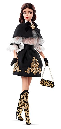 Barbie Collector BMFC Black and Gold Dress Doll