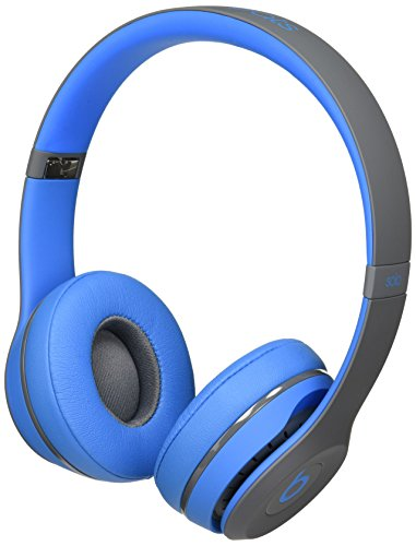 Beats Solo2 Wireless On-Ear Headphone, Active Collection – Flash Blue (Old Model)