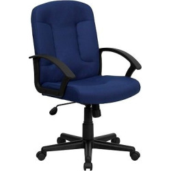 Executive Swivel Office Chair Navy (Blue) – Flash Furniture