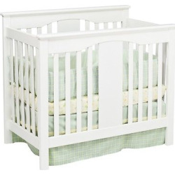 DaVinci Annabelle 2-in-1 Mini Crib and Twin Bed – White