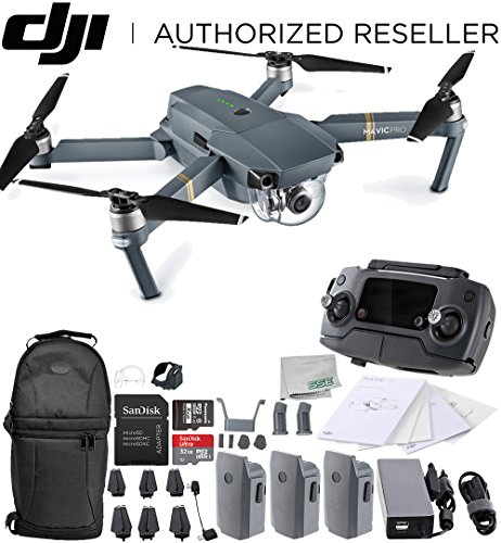 dji mavic pro collapsible quadcopter drone ultimate backpack bundle with - Allshopathome-Best Price Comparison Website,Compare Prices & Save