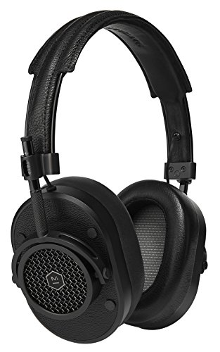 Master & Dynamic MH40B1 Award Winning Over-ear, Closed Back Headphones with Superior Sound Quality and Highest Level of Design. Premium Black Leather