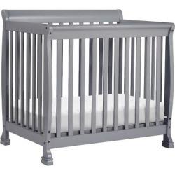 DaVinci Kalani 2-in-1 Mini Crib and Twin Bed – Gray