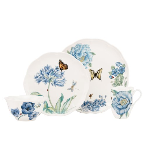 Lenox Butterfly Meadow Blue 4-Piece Place Setting
