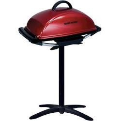 George Foreman Indoor-Outdoor Grill, Red