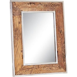 Rectangle Brando Decorative Wall Mirror Brown – Go Home