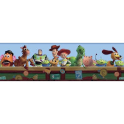 Disney / Pixar Toy Story Toy Chest Wall Border, Multicolor
