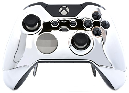Chrome Silver Xbox One Elite Controller UN-MODDED Custom Elite Controller