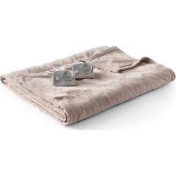Microplush Heated Blanket (King) Taupe (Brown) – Biddeford Blankets