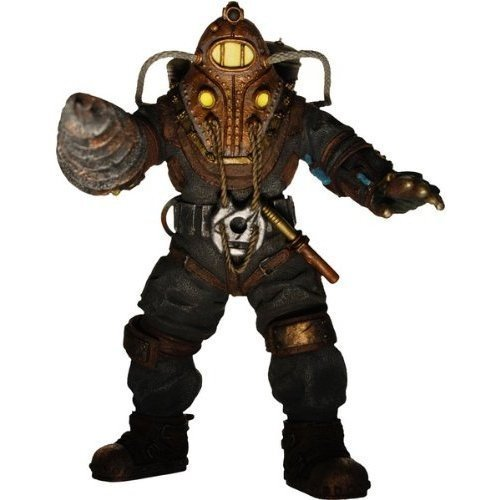 NECA Bioshock 2 Action Figure Big Daddy Prototype Subject Delta