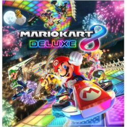 Mario Kart 8 Deluxe for Nintendo Switch, Multicolor