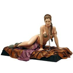 Star Wars Princess Leia as Jabba's Slave Deluxe Statue by Gentle Giant