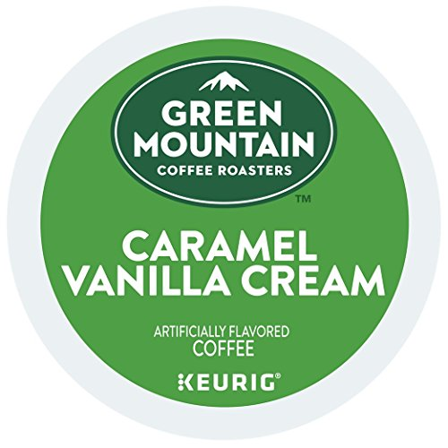 Green Mountain Coffee Caramel Vanilla Cream, K-Cup Portion Count for Keurig K-Cup Brewers (192 Count)