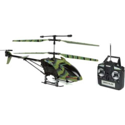 World Tech Toys Camo Hercules Unbreakable 3.5ch RC Helicopter, Multicolor