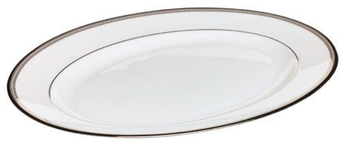 Lenox Murray Hill Platinum-Banded Bone China 13-Inch Platter