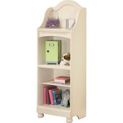 Cottage Retreat Large Bookcase Cream Cottage – Signature Design by Ashley, White