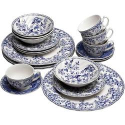 Johnson Brothers Devon Cottage 20-pc. Dinnerware Set, Blue