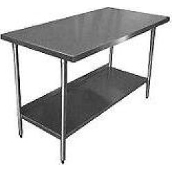 BlueAir® Stainless Steel Work Table – 30x60x34