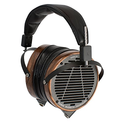 Audeze LCD-2 Over Ear | Open Back Headphone | Rosewood Wood Rings | Leather earpads