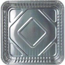 Durable Packaging Disposable Aluminum Square Cake Pan, 8″ x 8″ x 1-5/16″ (Pack of 500)