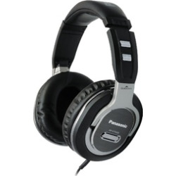 Panasonic Quick-Fit Over-the-Ear DJ Stereo Monitor Headphones