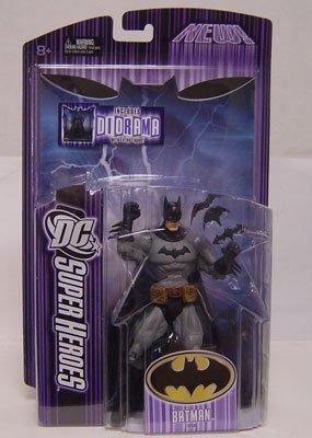 DC Super Heroes Mattel Select Sculpt Series 6 Action Figure Batman (Classic Black & Grey)