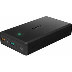 AUKEY 30000mAh USB-C Portable Charger Quick Charge 3.0 Power Bank, 3 USB Outputs Battery Pack Compatible Nintendo Switch, iPhone Xs/XS Max / 8 / Plus More